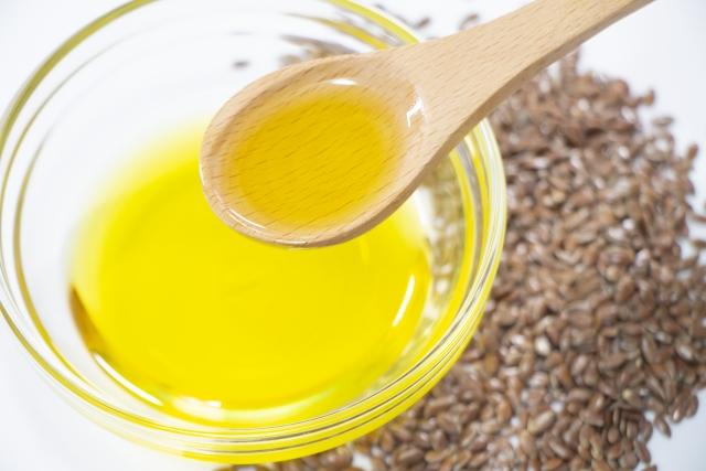 健康に良い油 オメガ3の亜麻仁油